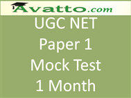 Compare UGC NET Paper1 Mock Test 1 at Compare Hatke
