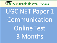 Compare UGC NET Paper1 Test for Communication 3 at Compare Hatke