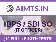 IBPS/SBI SO (IT Officer) : 15 Full Length Mock Tests