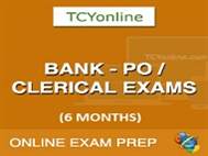 Bank PO/SO/Clerical Exam Online Test Series - 6 Months Pack