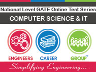 National Level GATE Online Test Series - Computer Science & IT