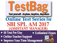 SBI Specialist Officer Online Test Series