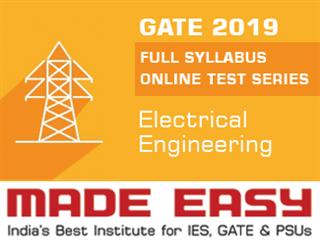 GATE 2019 Full Syllabus Online Test Series (EE)