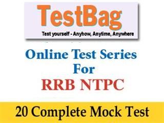 RRB NTPC MOCK TEST - 15 Online Tests