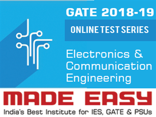 GATE 2019 Online Test Series + GATE 2018 Online Test Series (Electronics & Communications)