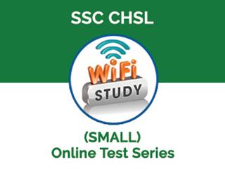 SSC CHSL Online Test Series (SMALL)