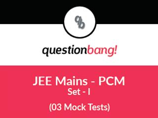JEE Mains –  PCM Online Tests (Set – I)