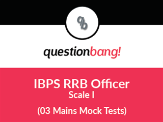 RRB Officer (Scale I) - (Mains Exam)