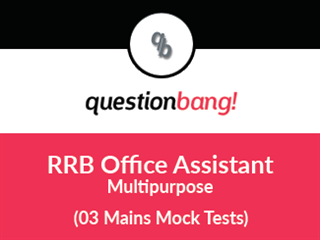 RRB Office Assistant (Multipurpose) Mains