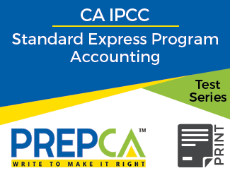 CA IPCC Standard Express Program Accounting Test Series