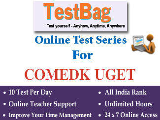 COMEDK UGET Online Test Series (1 Month)