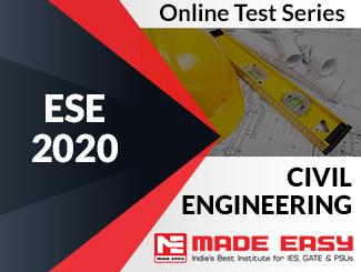 ESE 2020 Civil Engineering Online Test Series