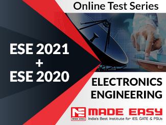 ESE 2020 + ESE 2019 Electronics Engineering Online Test Series