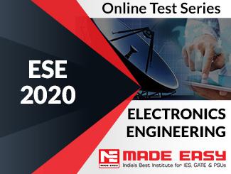 ESE 2020 Electronics Engineering Online Test Series