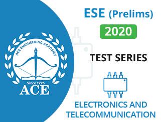 ESE Prelims Test Series 2020 EnTC Engineering