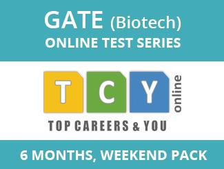 GATE Biotech Online Test Series (6 Months, Weekend Pack)