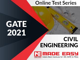 GATE 2020 Civil Engineering Online Test Series