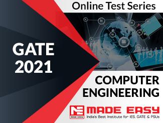 GATE 2021 Computer Science Engineering Online Test Series