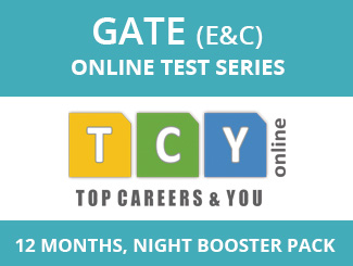 GATE E&C Online Test Series (12 Months, Night Booster Pack)