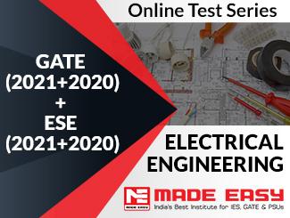 GATE (2020+2019) + ESE (2020+2019) Electrical Engineering Online Test Series
