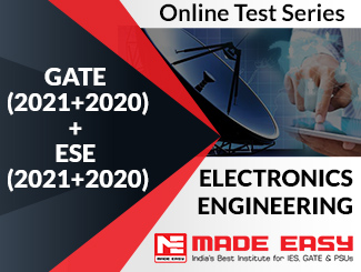 GATE (2020+2019) + ESE (2020+2019) Electronics Engineering Online Test Series