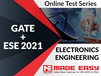 GATE + ESE 2020 Electronics Engineering Online Test Series