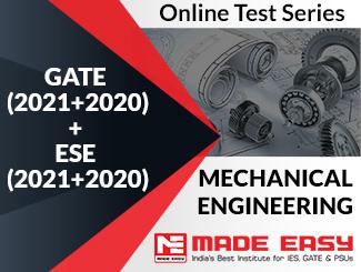 GATE (2020+2019) + ESE (2020+2019) Mechanical Engineering Online Test Series