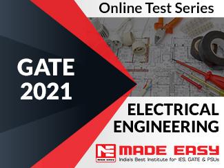 GATE 2021 Electrical Engineering Online Test Series