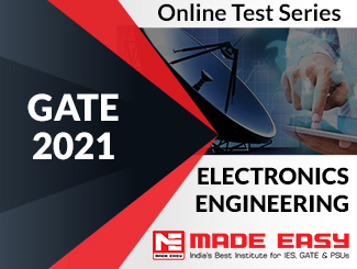 GATE 2021 Electronics & Communications Engineering Online Test Series