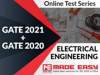 GATE 2020 + GATE 2019 Electrical Engineering Online Test Series