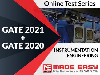 GATE 2020 + GATE 2019 Instrumentation Engineering Online Test Series