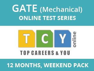 GATE Mechanical Online Test Series (12 Months, Weekend Pack)