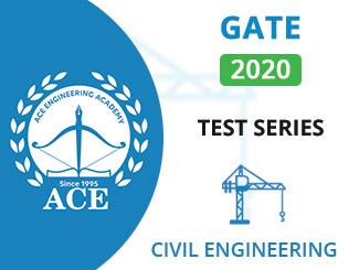 GATE Test Series 2020 for Civil Engg