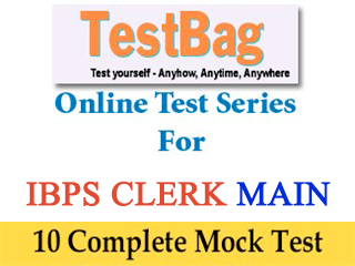 IBPS Clerk Mains Online Mock Tests (10 Mocks)