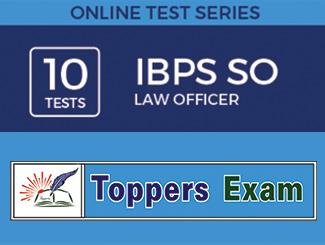 IBPS SO - Law Officer Exam