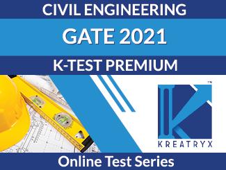 K-TEST PREMIUM Online Test Series for GATE Civil Engineering