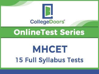 MHCET Online Test Series (15 Tests)