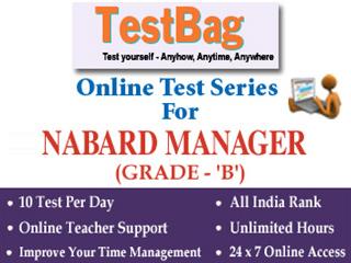 NABARD Grade (A & B) Officer Online Test Series (1 Month)