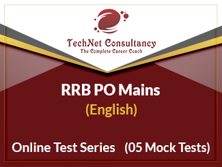 RRB PO Mains Online Test Series (English)