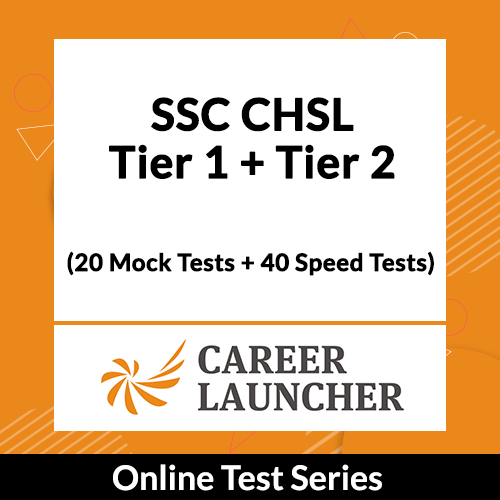 SSC CHSL Tier 1 + Tier 2 Test series (20 Mocks + Test Gym)