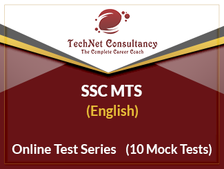 SSC MTS Online Test Series (English)