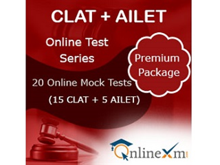 CLAT +AILET Online Test Series- Premium Package