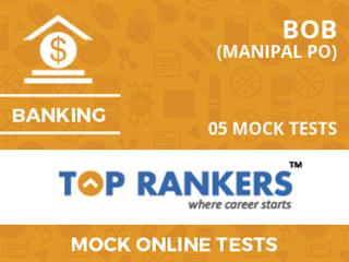 BOB Manipal PO Mock Tests