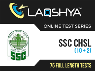 SSC CHSL (10+2) Online Test Series