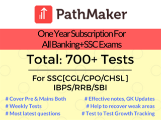 One Year Access For Banking+SSC Exams