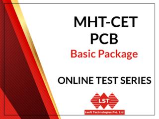 MHT-CET PCM Basic Package Online Test Series