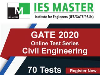 GATE 2020 Online Test Series for Civil Engineering