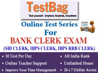Bank Clerk Combo Online Test Series