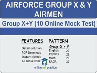 Airforce Group X & Y Online Test Series