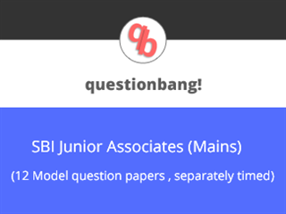 SBI Junior Associates (Mains) Online Test Series